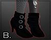 Trad goth short boots