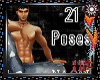 21 Poses Male