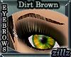 [zillz]Brows Dirt Brown