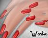 W° Short Nails~ Cherry