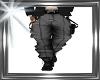 ! grey black pants boots