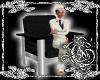 {G}Black/Silver Chair
