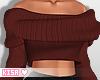 K|SangriaCozyCropSweater