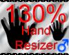 *M* Hand Scaler 130%