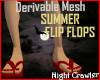 Flip Flop Pedicure Mesh