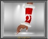 Red & White Arm Warmers