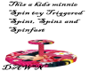 Minnie Mouse Spin toy