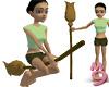 Broom Ridable