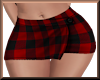 Girly Plaid Skirt RED