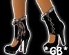 Black n Brown Stiletto's