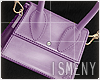 [Is] Mini Bag W - Purple