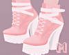 🅜 NEKO: pink boots