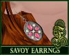 Savoy Earrings Pink