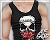 """Ⱥ"""" Skull Tank Top"""