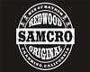 SAMCRO hoodie Blk