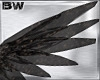 Angel Black Gold Wings