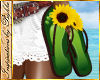 I~SunflowerFlipFlop Hand