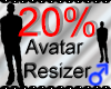 *M* Avatar Scaler 20%