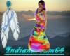 (i64)Rainbow long dress