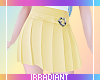 Pleated | Yellow