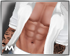 Open White Tattoo Shirt