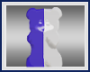 Blue/White Dancing Gummy