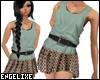 {EX} Layered Tank/skirt