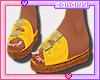 ➸ Sandals (Mustard)