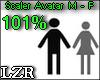 Scaler Avatar M - F 101%