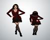 Velvet Vixen Ruby Coat