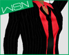 [wsn]Casual Suit#RED