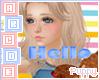 . Emotion Sticker Hello