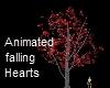 [L]Glass Valentine Tree