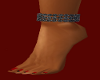 (MTA) Black Anklet Left