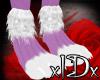 xIDx Spot Purple Feet M