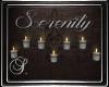 (SL) Seren. Wall Candles
