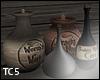 Potion jars