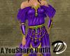 Bejeweled Satin Dress pr