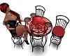 Blk/Rd Burlesque Table