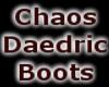 Chaos Daedric Boots