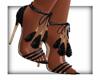LKC Black Tassel Heels
