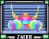 rainbow flashy gasmask m