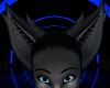 Black Furry Kitty Ears