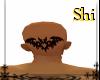 Bat head tattoo