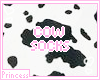 moo! cow socks