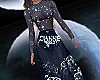 Stardust gown blue