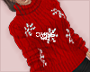 jumper outfit red snow