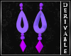 ~D~ LoL Morgana Earrings