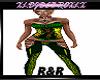 R&R PVC GREEN GOLD V4