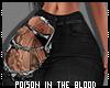 ** Jeans Black Tattoo 44